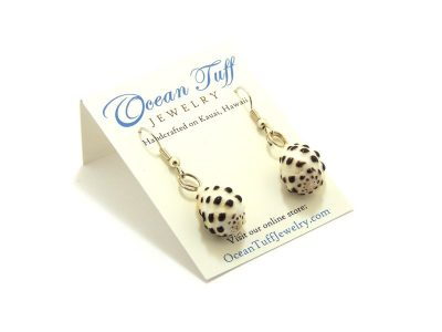 Ocean Tuff Jewelry - Hawaiian Drupe Shell Earrings