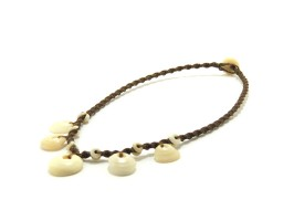 Ocean Tuff Jewelry - Floating Puka Shell Necklace