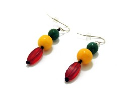 Rasta Earrings