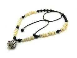 Ocean Tuff Jewelry - Authentic Kauai Puka and Hebrew Cone Shell Necklace