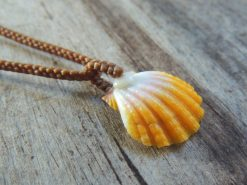Ocean Tuff Jewelry - Sunrise Shell Pendant Necklace