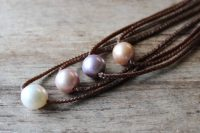 Ocean Tuff Jewelry - Freshwater Pearl Choker-Style Necklace - Colors Example