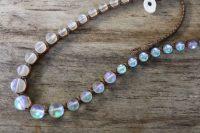 Ocean Tuff Jewelry - Aqua Aura Quartz Gemstone Necklace