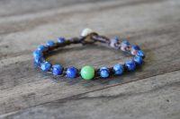 Ocean Tuff Jewelry - Modern Ye Ming Zhu & Kyanite Bracelet